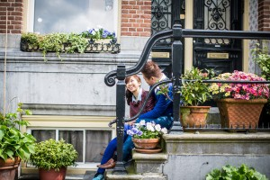 pre wedding photoshoot in Amsterdam