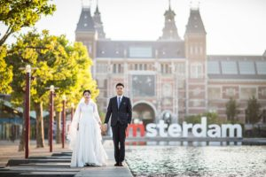 Amsterdam engagement love shoot
