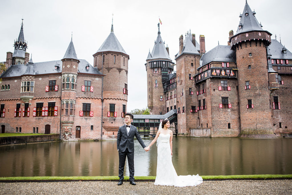 Castle prewedding Europe