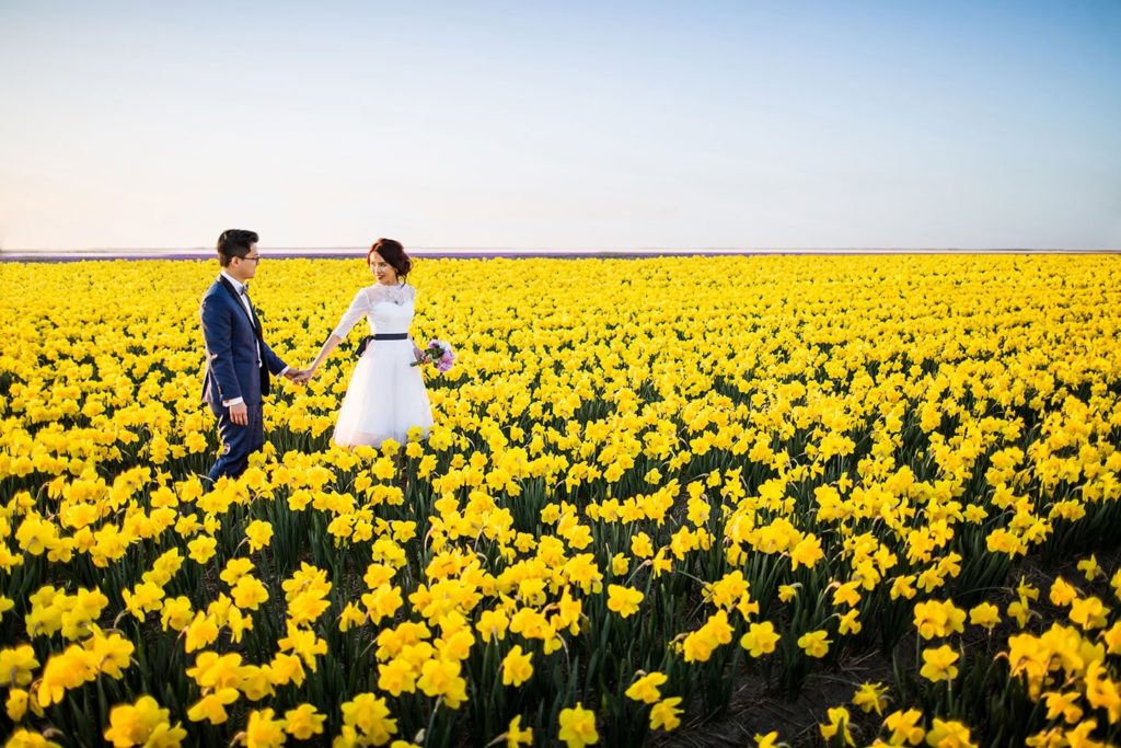 Keukenhof prewedding photography