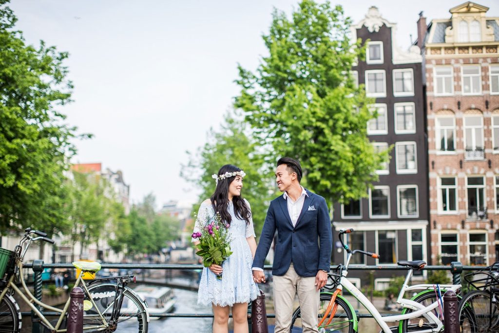 Love shoot Amsterdam Netherlands