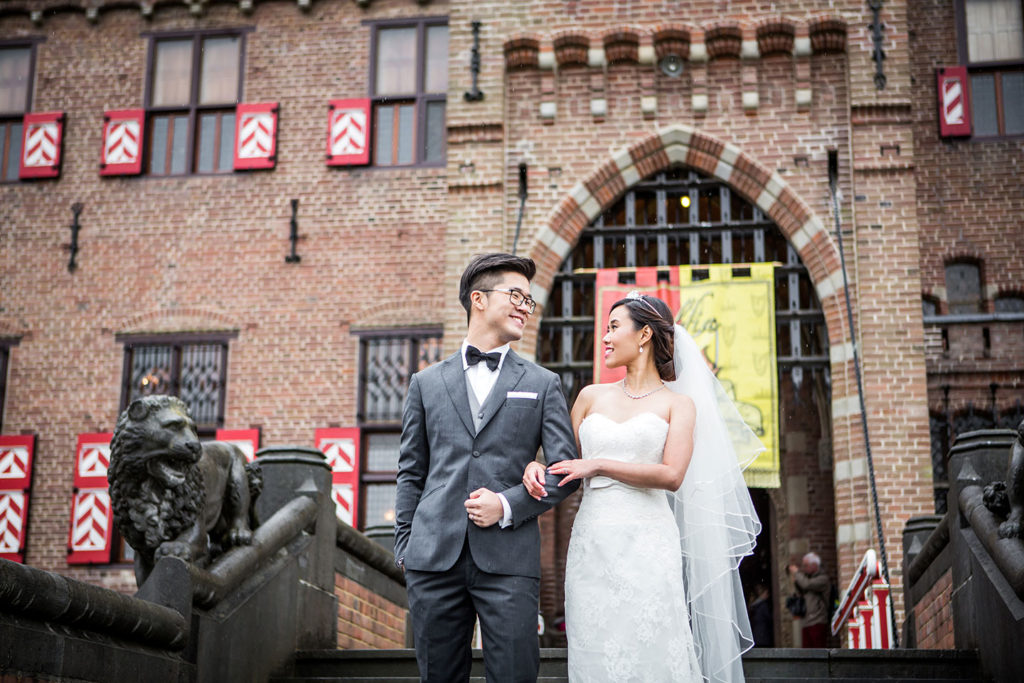 Prewedding shoot castle Europe